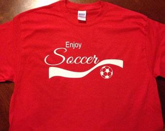 Enjoy Soccer T-shirt