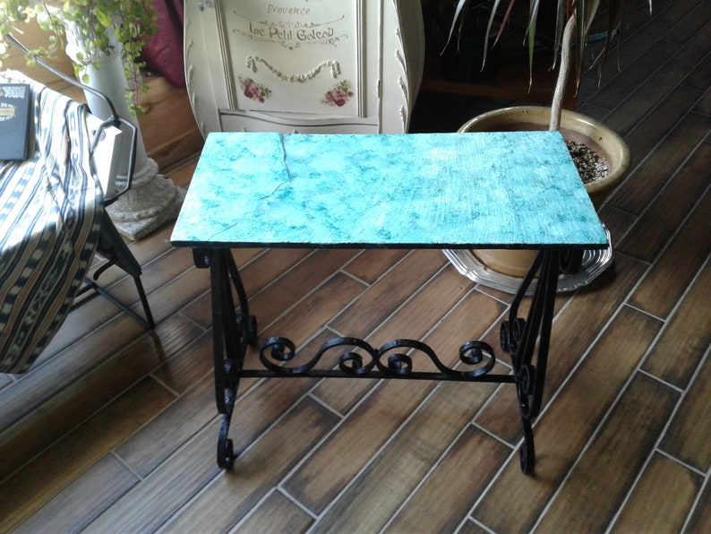 Phenomenal Elegant Antique Victorian Wrought Iron Table With Choice Of Tops Beatyapartments Chair Design Images Beatyapartmentscom