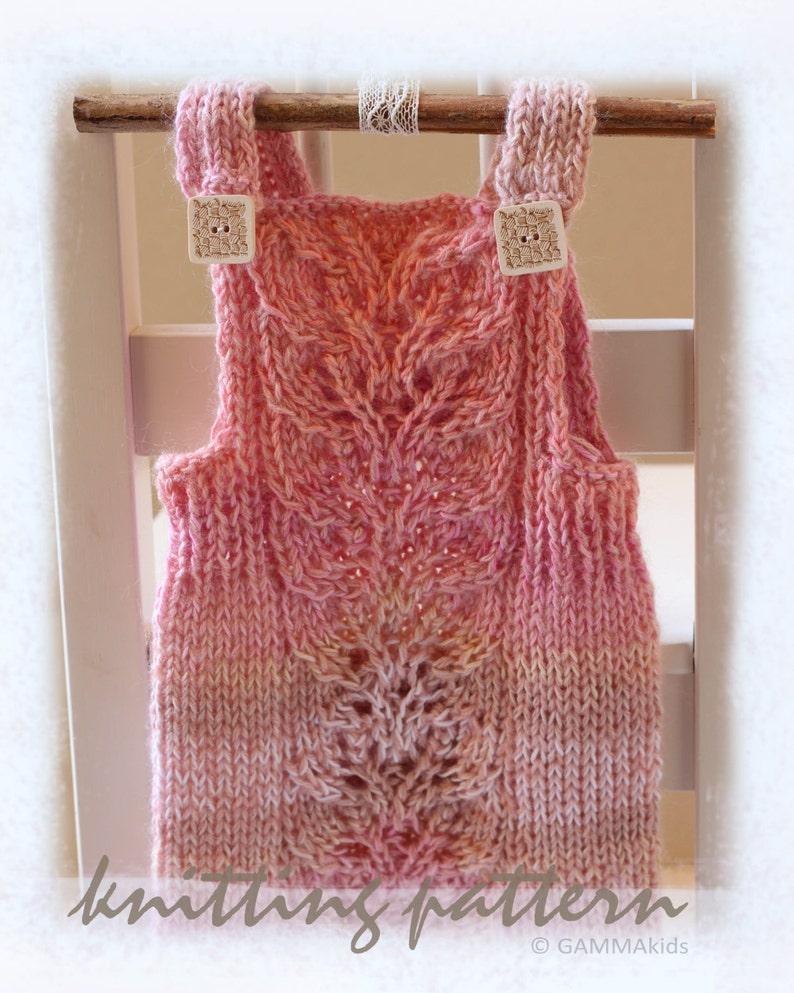 8ecb47444 Lace baby romper KNITTING PATTERN Knitting baby PDF Baby