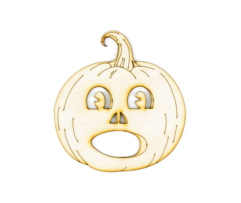 Vintage Scared Jack-O-Lantern DIY Crafts Halloween Craft ...