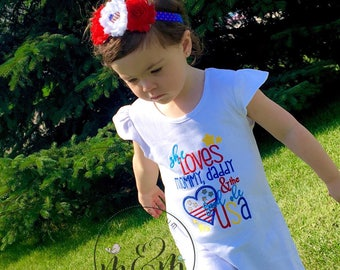 Oh My Star | 4th of July Shirt | 4th of July Dress | 4th of July Outfit | Red White and Blue | Fourth of July Shirt