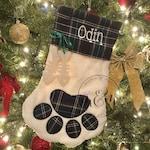Pet Christmas Stocking - Dog Christmas Stocking - Cat Christmas Stocking - Dog Stocking - Cat Stocking - Stocking - Pet Stocking