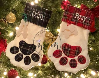 Pet Christmas Stocking | Dog Christmas Stocking | Cat Christmas Stocking |