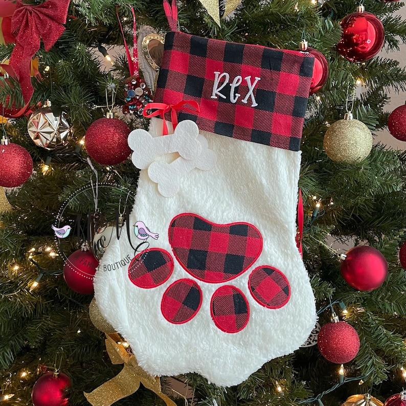 Pet Christmas Stocking  Dog Christmas Stocking  Cat image 0