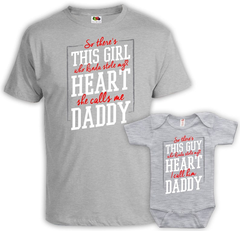 Father Daughter Shirt Dad And Baby Matching Shirt Daddy And Me Outfit Daddy  Daughter Gift New Dad Gift Matching Family Outfit MAT-828-829
