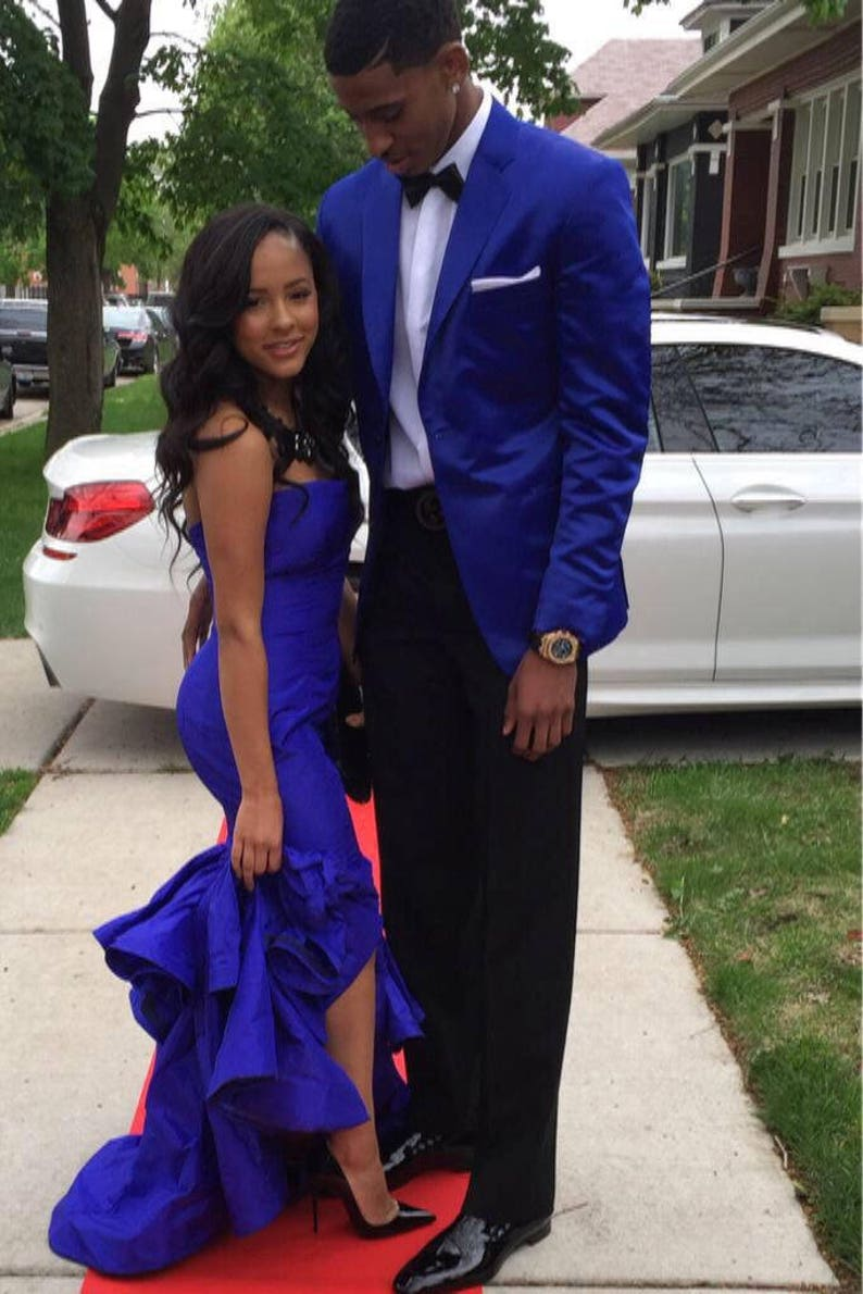 be3d26ee6a4 African Couples Outfit for Prom Couples Engagement Dress