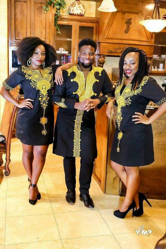 7eee16fed84 African Couple Outfit Ankara Outfit for Couples  Couple s
