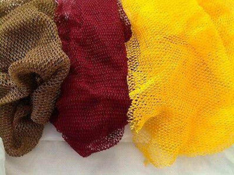 African Exfoliating Body Net African Sponge Eponge Fillet image 0