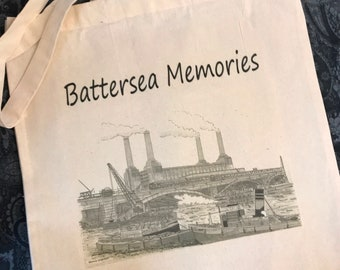 Shoulder Tote Bag Victoria Park by Artist Bernie Wighton