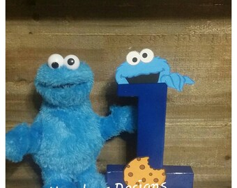 Cookie monster 1st birthday,cookie monster props,cookie monster invites,cookie monster birthday shirt,cookie monster letters,cookie monster