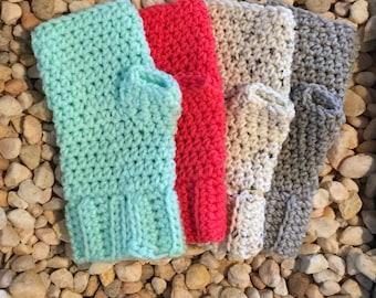 Crochet Pattern Quick Mitts