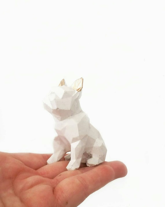 Concrete Frenchie, French Bull Dog, Dog Ring Holder, Frenchie, Ring Holder, Frenchie Mom, Bulldog, Jewelry Dish, Ring Dish, Pet Lover,