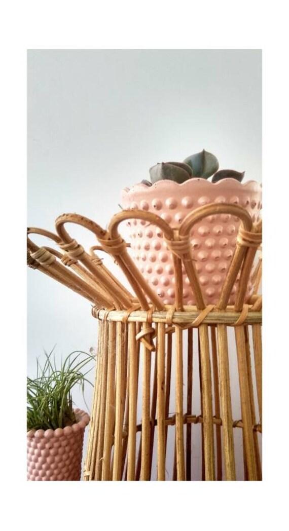 Vintage Style Planter/Milk Glass Style Planter/Indoor Planter/Succulent planter/Cactus planter/