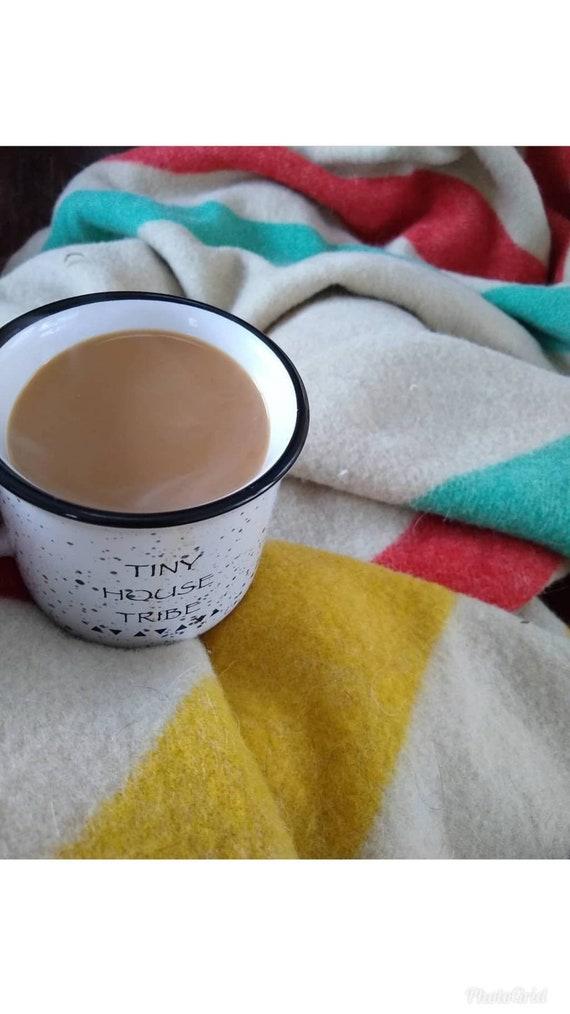 Mug/camping/tiny house/rv mug/apartment decor/planter/camping mug/tiny house mug/coffee mug/small house decor/tiny house tribe/wanderlust