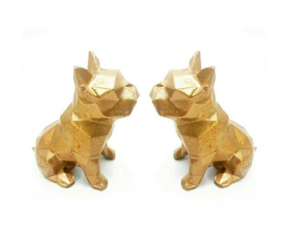 Concrete Frenchie, French Bull Dog, Concrete dog, Ring Holder, Frenchie, Bulldog, Jewelry Dish, Ring Dish,Ring Cone, French Bulldog,