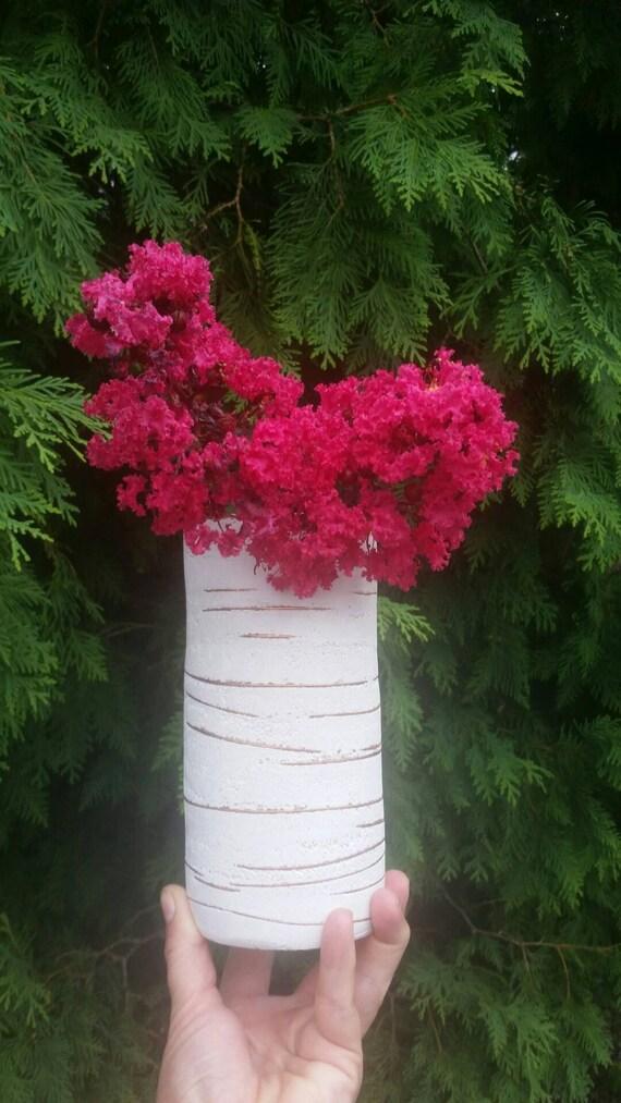 Concrete Vase/Flower Vase/Concrete decor/Industrial decor/Modern home/Centerpieces/Floral Arrangement/Home Decor