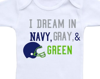 Football Baby Outfit or Gerber Onesie® Cute Baby Onesies® Seahawks Baby  Girl Baby Boy Seahawks Onesie® Football Onesie® Baby Shower Gift 0e94e9cc1