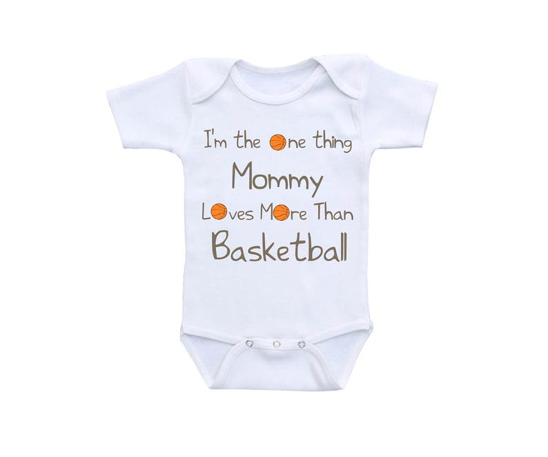 60ef3dabb90d Basketball Baby Bodysuit or Gerber Onesie® Basketball Onesie®