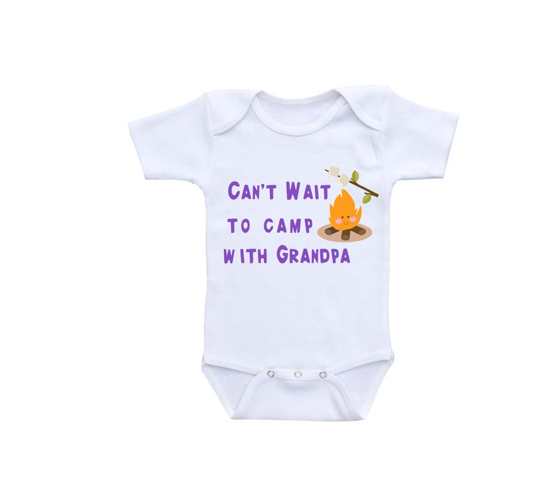 fb3bb2f9f Camping Baby Clothes or Gerber Onesie® Cute Baby Onesies®