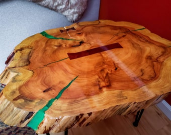 Sensational Redwood Coffee Table Etsy Beutiful Home Inspiration Cosmmahrainfo