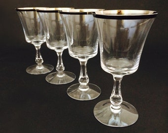 """Fostoria Crystal SHEFFIELD 6-3//4/"""" Water Goblet Stem NEW Multiple Available"""