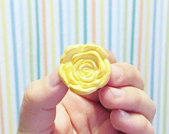 Rose Cookie Magnet