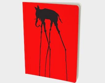 Salvador Dali Elephant Notebook