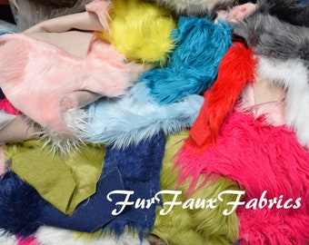 Fur Remnants 1 lbs Remnants Atleast 6
