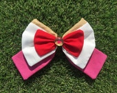 Tiny Soldier Moon Hair Bow (MADE TO ORDER)