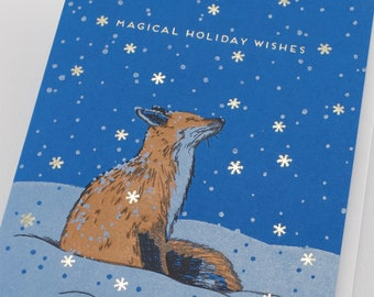 Magical Holiday Fox