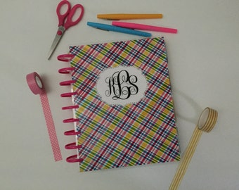 MAMBI Plaid Happy Planner Cover