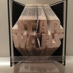 Star Wars Book Folding Pattern - Gifts for him - Father's Day - Star Wars Fan - Unique Gift - Birthday Gift - Gift for Dad - Boyfriend
