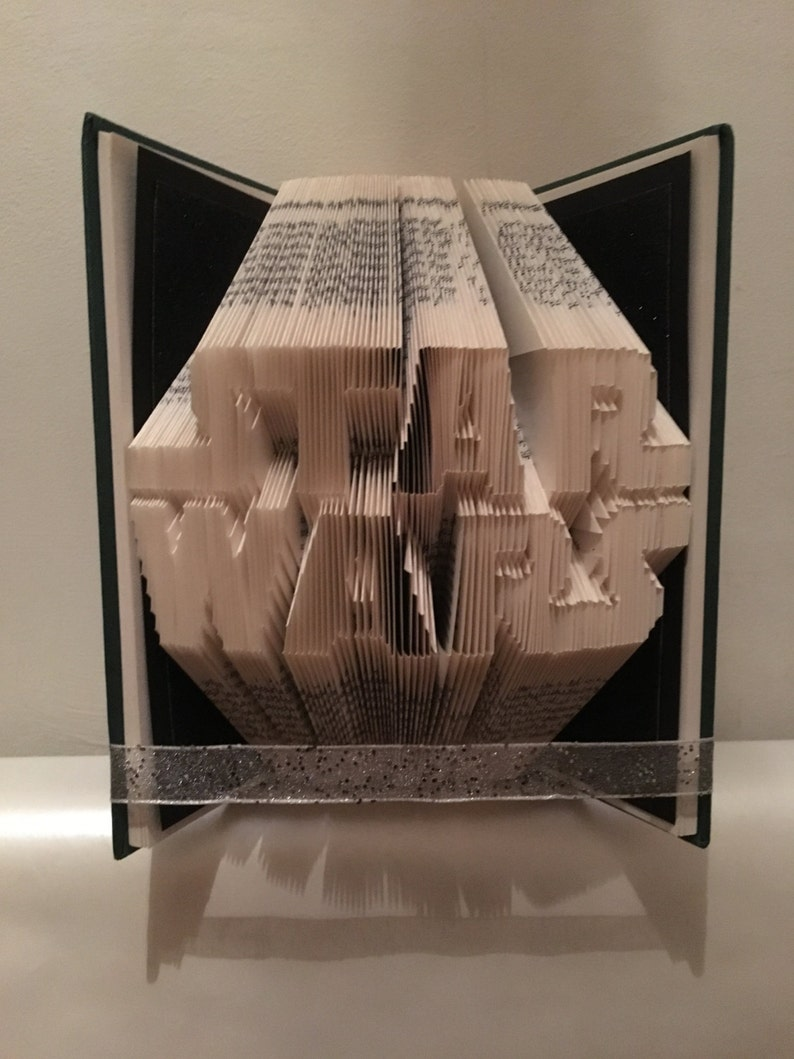 Star Wars Book Folding Pattern  Gifts for him  Father's image 0