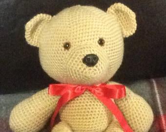 Handmade Crocheted Teddy Bear