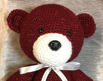 Quarantine Christmas Bear