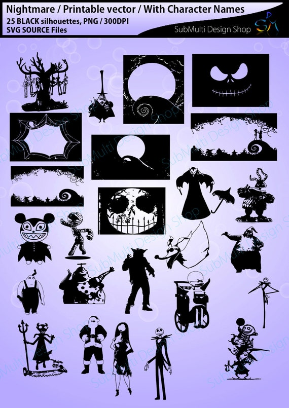 image 0 - Characters In Nightmare Before Christmas