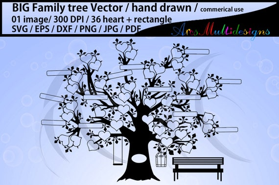 View Family Tree Bundle Svg Dxf Eps Png PNG
