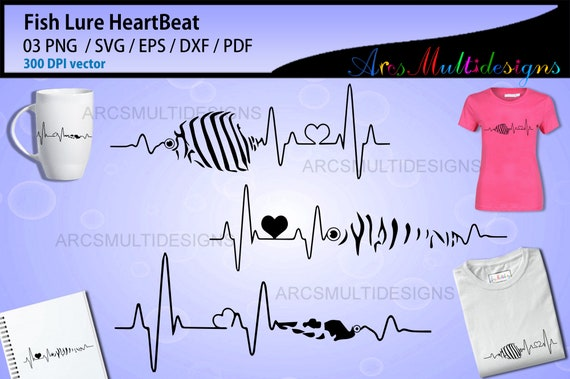Download Fishing Lure Heartbeat Svg Fishing Lure Patterns Heartbeat Fishing Lure Vector Fishing Lure Heart Beat By Arcsmultidesignsshop Catch My Party