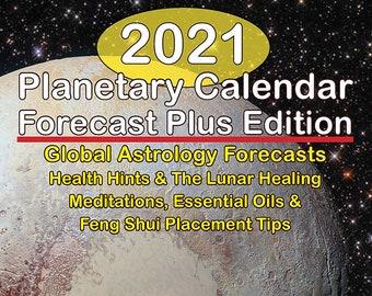 2021 Forecast Plus+ Digital Book Planetary Calendar