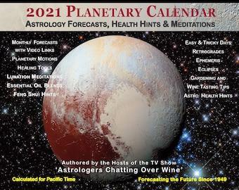 2021 Mobile Planetary Calendar