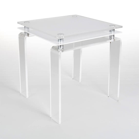 Modern Acrylic Coffee Table | Coloured Acrylic Coffee Table | Perspex Table  | Manufactured in the UK