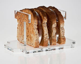 Toast Rack | Toasted Bread Holder | Toast Stand | Premium Acrylic | Made in the UK
