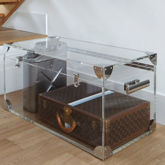 Clear Acrylic Trunk / Coffee Table Premium Acrylic Made In