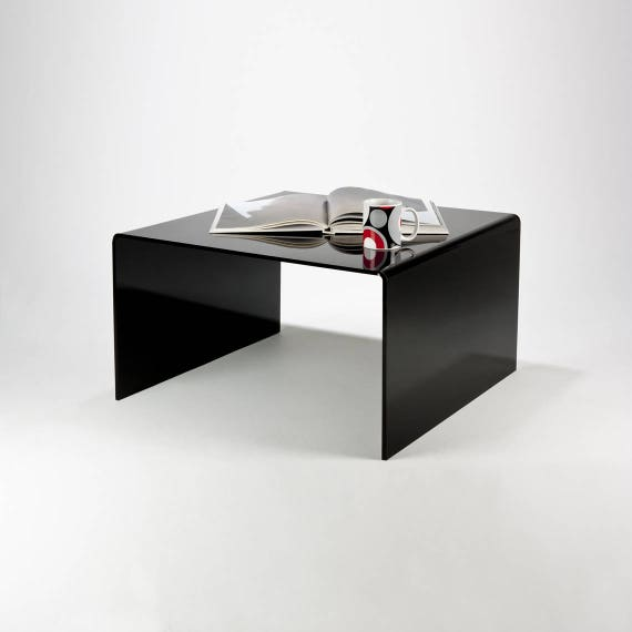 Black Acrylic Coffee Table | Black Perspex Coffee Table | Premium Perspex  Acrylic | Manufactured in the UK