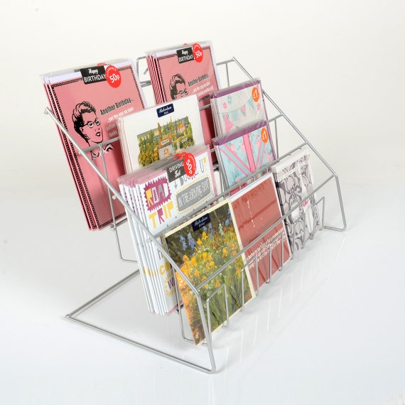 Counter Card Display Stand Or Leaflet Rack Uk