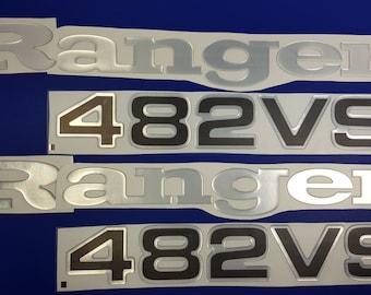 b6822bbb Ranger boat Emblems 28