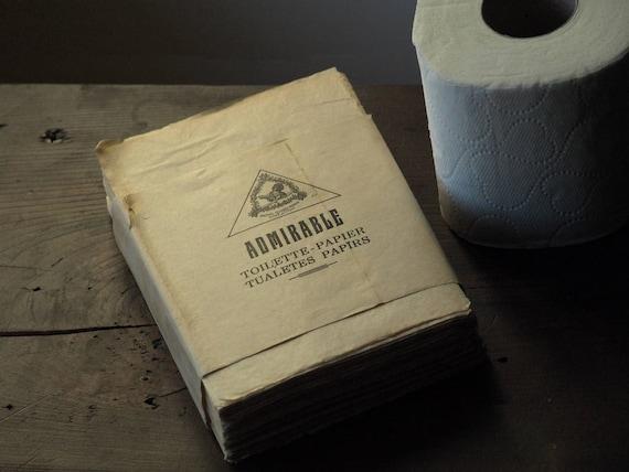 1940er Jahre Toilettenpapier Lustiges Geschenk Tissue Papier Durchsichtige Papier Weltkrieg 2 Sammlerstück Ww2paper Ww2