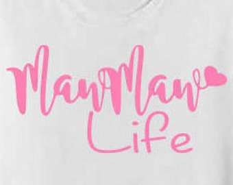 Download Nana Life Svg Nana Svg File Grandma Cricut Cut Svg My | Etsy