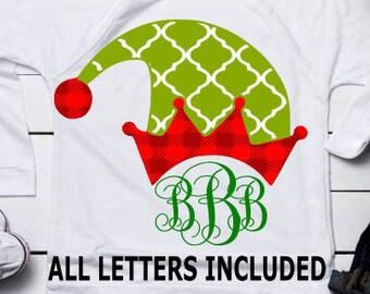 d1a404ef7f44c Christmas Elf Hat Svg
