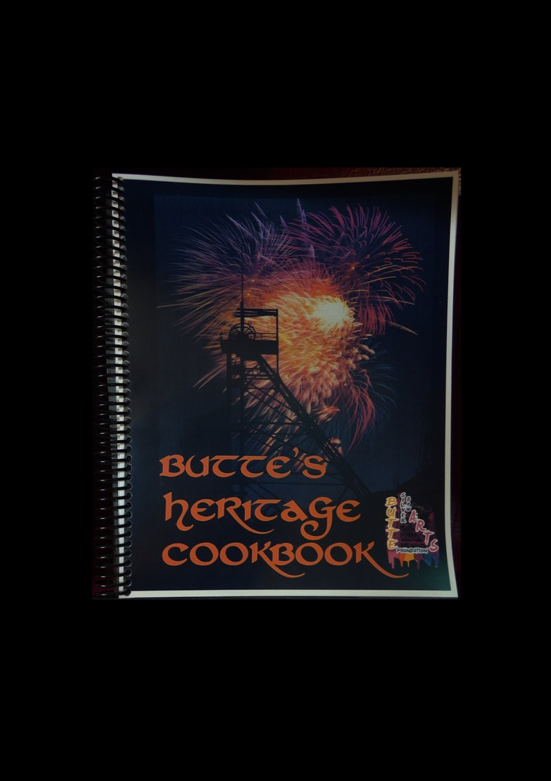 Butte Heritage Cookbook  Now spiral bind and additional image 0